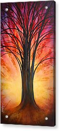 'tree Of Life' Acrylic Print by Michael Lang