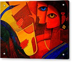 Tribal Women Acrylic Print by Jiaur Rahman
