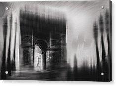 Triumphal Arch Acrylic Print