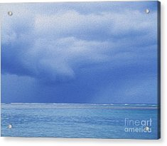 Tropical Storm Acrylic Print by Roselynne Broussard