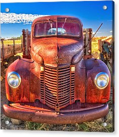 International Rust Acrylic Print