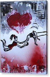 Trust Acrylic Print by Sladjana Lazarevic