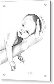 Trusting Innocence Acrylic Print by Patricia Hiltz