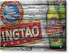 Tsingtao Acrylic Print by Joe Hamilton