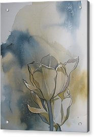 Tulip Abstraction Acrylic Print by Alfred Ng