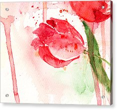 Tulip Flower Acrylic Print