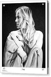 Tulip Acrylic Print by Joseph Ogle