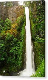 Tunnel Falls  Acrylic Print by Jeff Swan