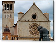 Acrylic Print featuring the photograph Turning Point --st. Francis Of Assisi by Theresa Ramos-DuVon