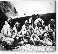 Tuskegee Airmen Acrylic Print by Retro Images Archive