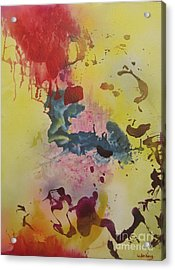 Tzfasser 12 - Mystic Synapse #1 Acrylic Print by Dov Lederberg