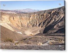 Ubehebe Crater Acrylic Print