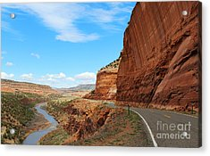 Acrylic Print featuring the photograph Unaweep Tabeguache Scenic Byway by Kate Avery