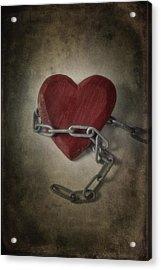 Unchain My Heart Acrylic Print by Joana Kruse