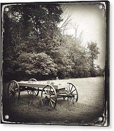 Uncle Robert's Wagon Acrylic Print