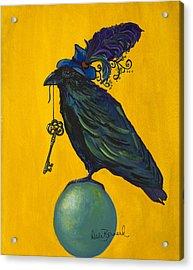 Uncommon Raven Love 2 Acrylic Print