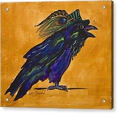 Uncommon Raven Love 3 Acrylic Print