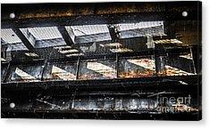 Under The Street Acrylic Print by Diane Diederich