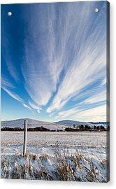 Under Wyoming Skies Acrylic Print