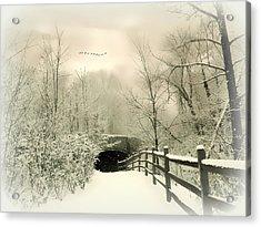 Underhill Crossing Acrylic Print by Jessica Jenney