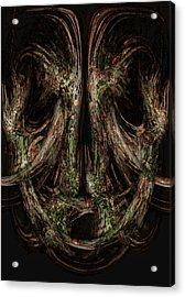 Unforgiveness Acrylic Print by Christopher Gaston
