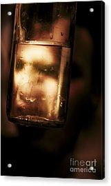 Unhappy Drunk Acrylic Print by Jorgo Photography - Wall Art Gallery