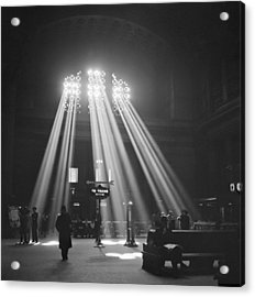Union Station In Chicago Acrylic Print