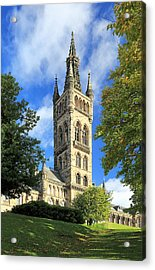 University Of Glasgow Acrylic Print