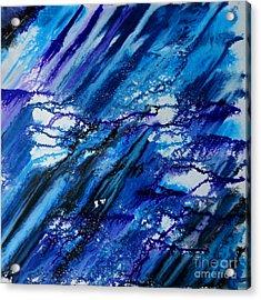 Blue Wind Acrylic Print