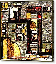 Untitled 350 Acrylic Print by Nedunseralathan R