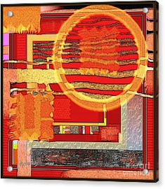 Untitled 352 Acrylic Print by Nedunseralathan R