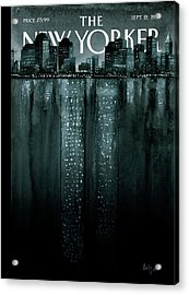 New Yorker September 12th, 2011 Acrylic Print