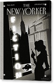 New Yorker June 10th, 2013 Acrylic Print