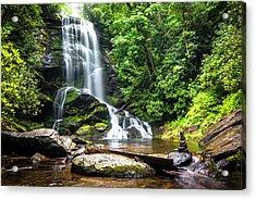 Upper Catabwa Falls Acrylic Print