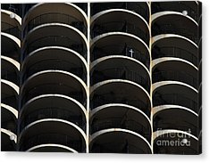 Urban Abstract 3 Acrylic Print by Jim Wright
