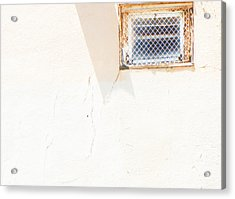 Urban Window 2 Acrylic Print by Lenore Senior