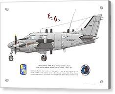 U.s. Army Ru-21a Acrylic Print
