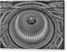 Us Capitol Rotunda Acrylic Print by Susan Candelario