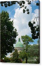 Us Naval Academy Chapel Dome Acrylic Print