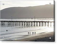 Usa, California, Avila Beach Acrylic Print by Trish Drury