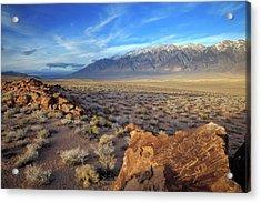 Usa, California, Bishop Acrylic Print