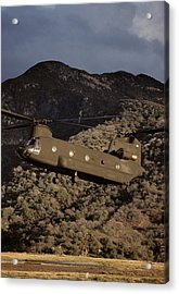 Usa, California, Chinook Search Acrylic Print by Gerry Reynolds