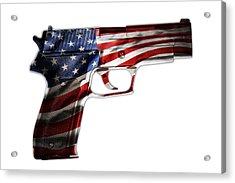 Usa Gun 1 Acrylic Print