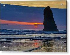 Usa, Oregon, Cannon Beach Acrylic Print