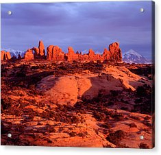 Usa, Utah Arches National Park Arches Acrylic Print by Jaynes Gallery