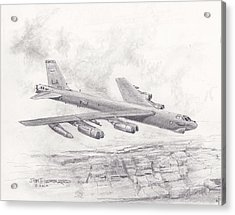 Usaf B-52 Stratofortress  Acrylic Print