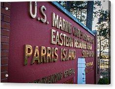 Marine Recruit Depot Acrylic Print