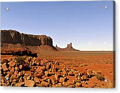 Utah's Iconic Monument Valley Acrylic Print