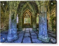 Valle Crucis Acrylic Print by Ian Mitchell
