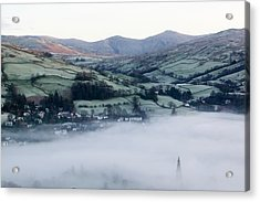 Valley Mists Acrylic Print by Ashley Cooper